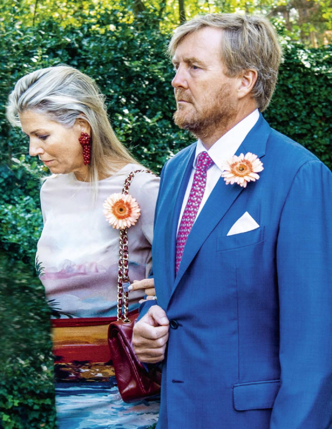 Los Reyes De Holanda Despiden A La Princesa Cristina