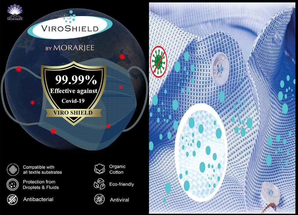 Morarjee introduces ViroShield protective fabrics