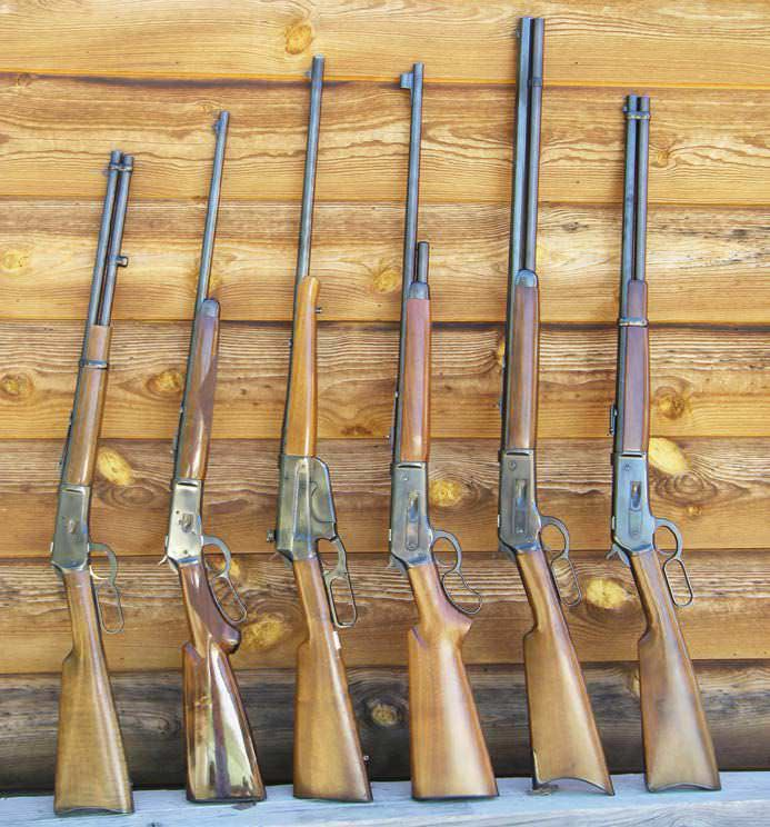 Mostly Long Guns