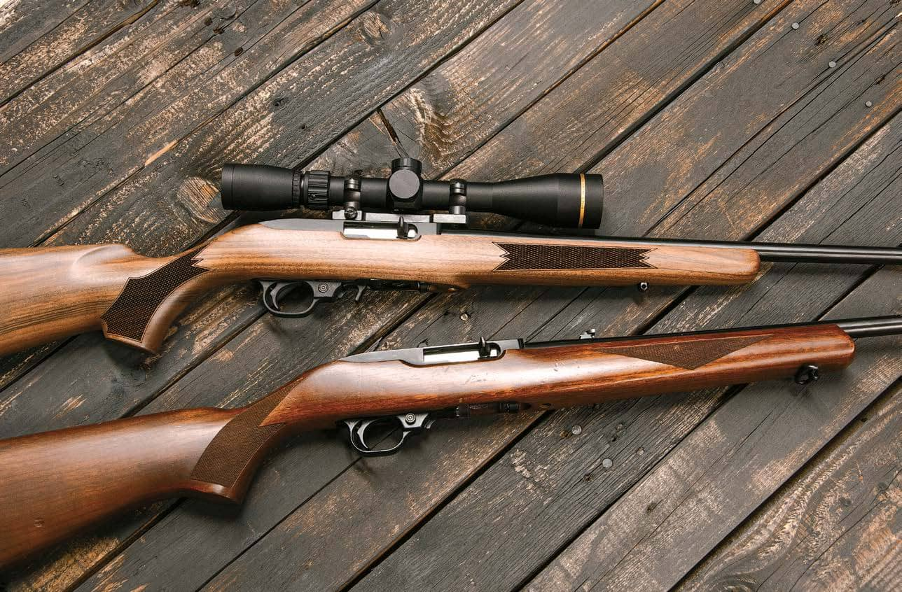 RUGER 10/22, OLD AND NEW