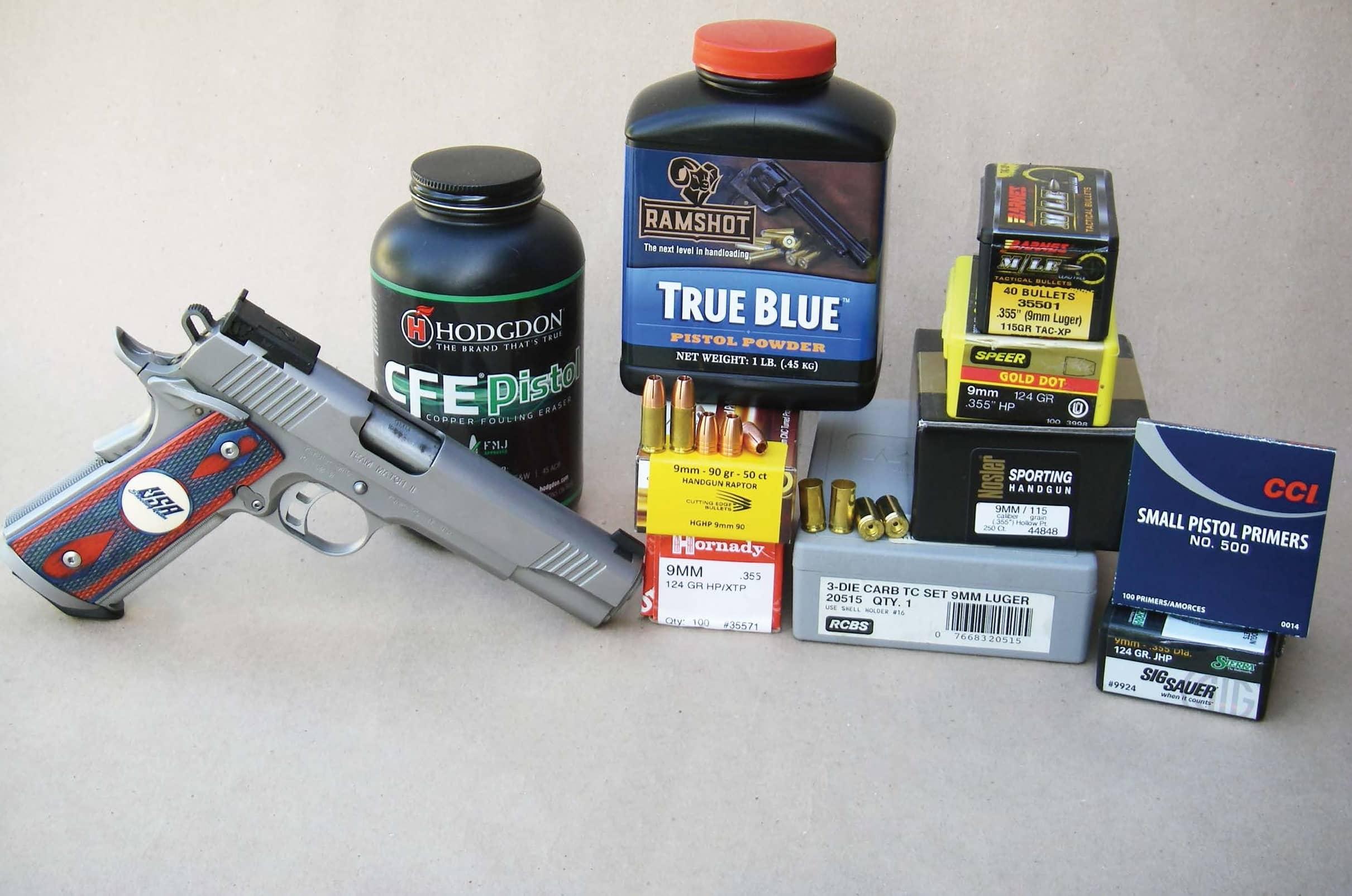 9mm Luger Standard Pressure Loads