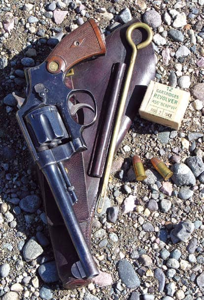 SMITH & WESSON WEBLEY .455S