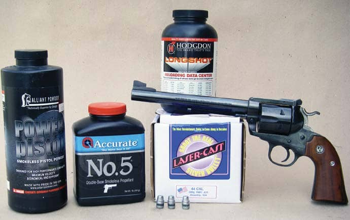 .44 Magnum Powders And Bullets