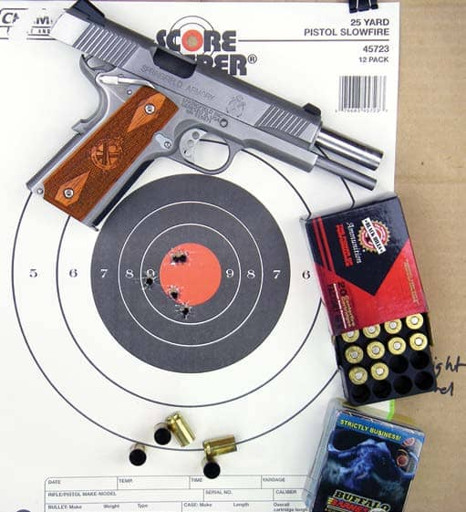 Springfield Armory 1911-A1 Loaded Stainless .45 ACP