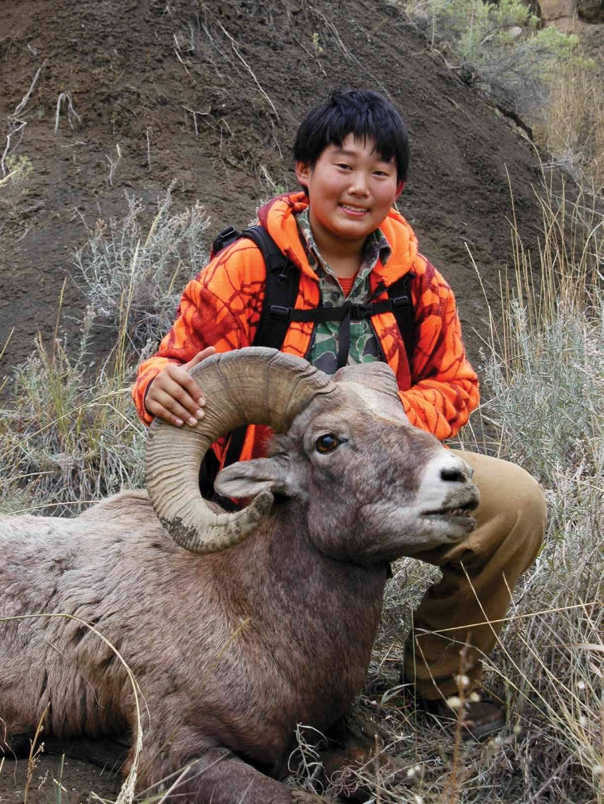 A Boy, The Breaks And A Bighorn