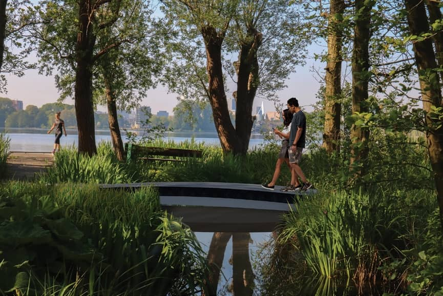 World's First 3D Printed Footbridge