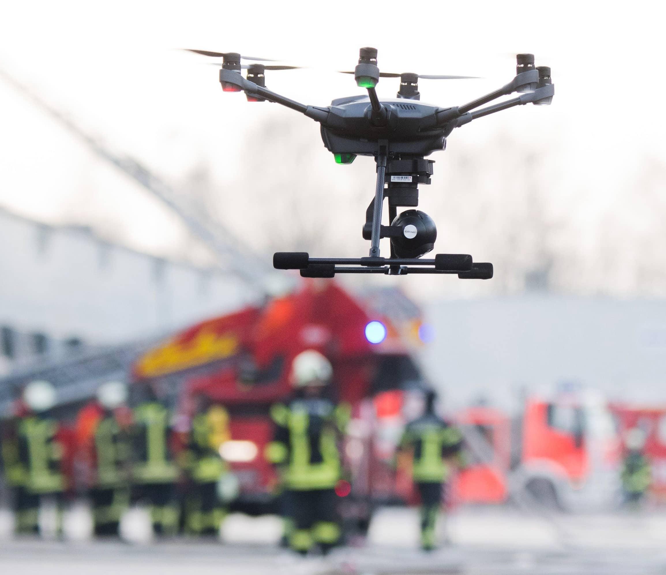 University-Backed Nebraska Firm To Offer Firefighting Drones