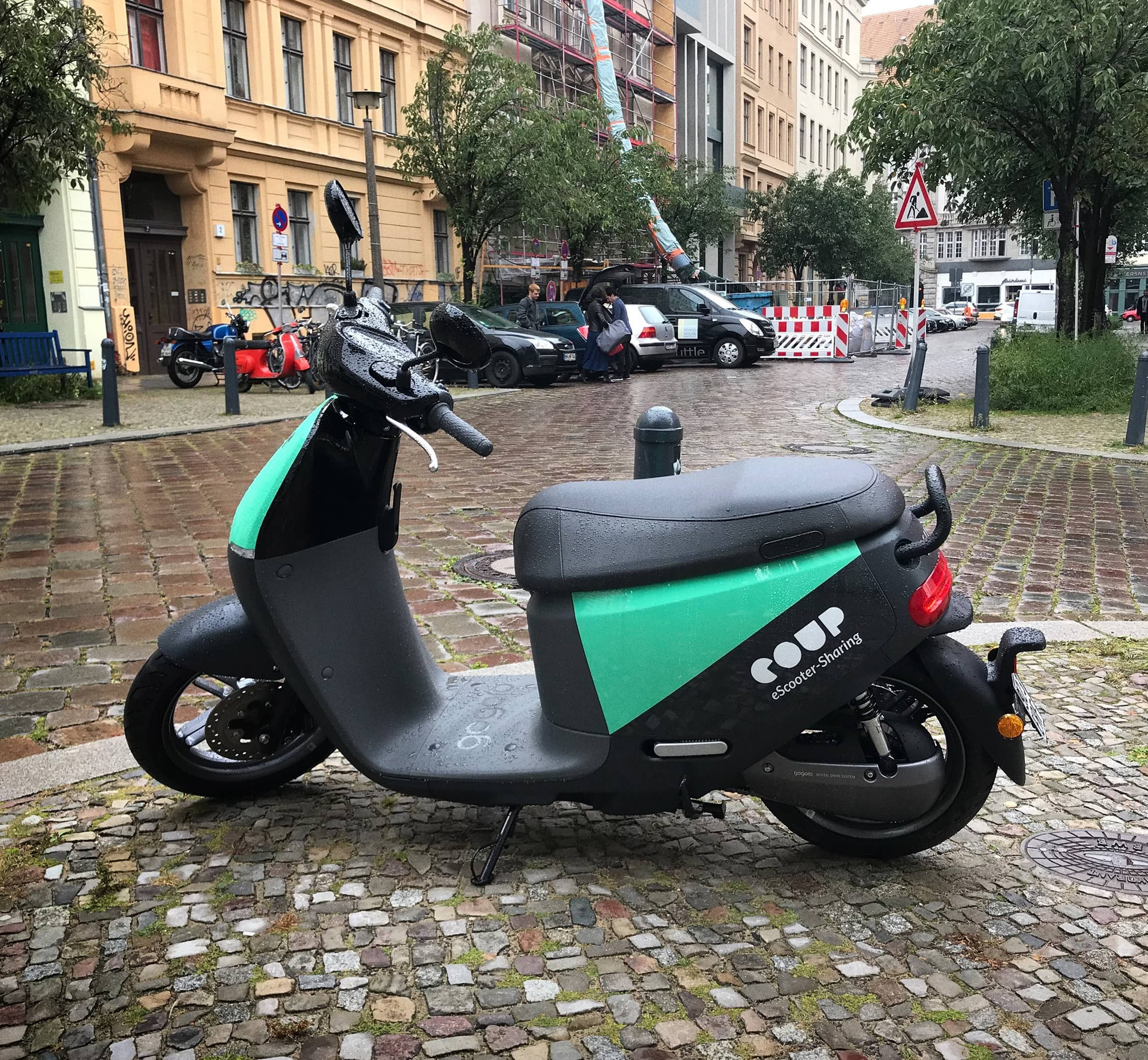 Bosch To Stop Motor Scooter-Sharing Service Coup In Europe
