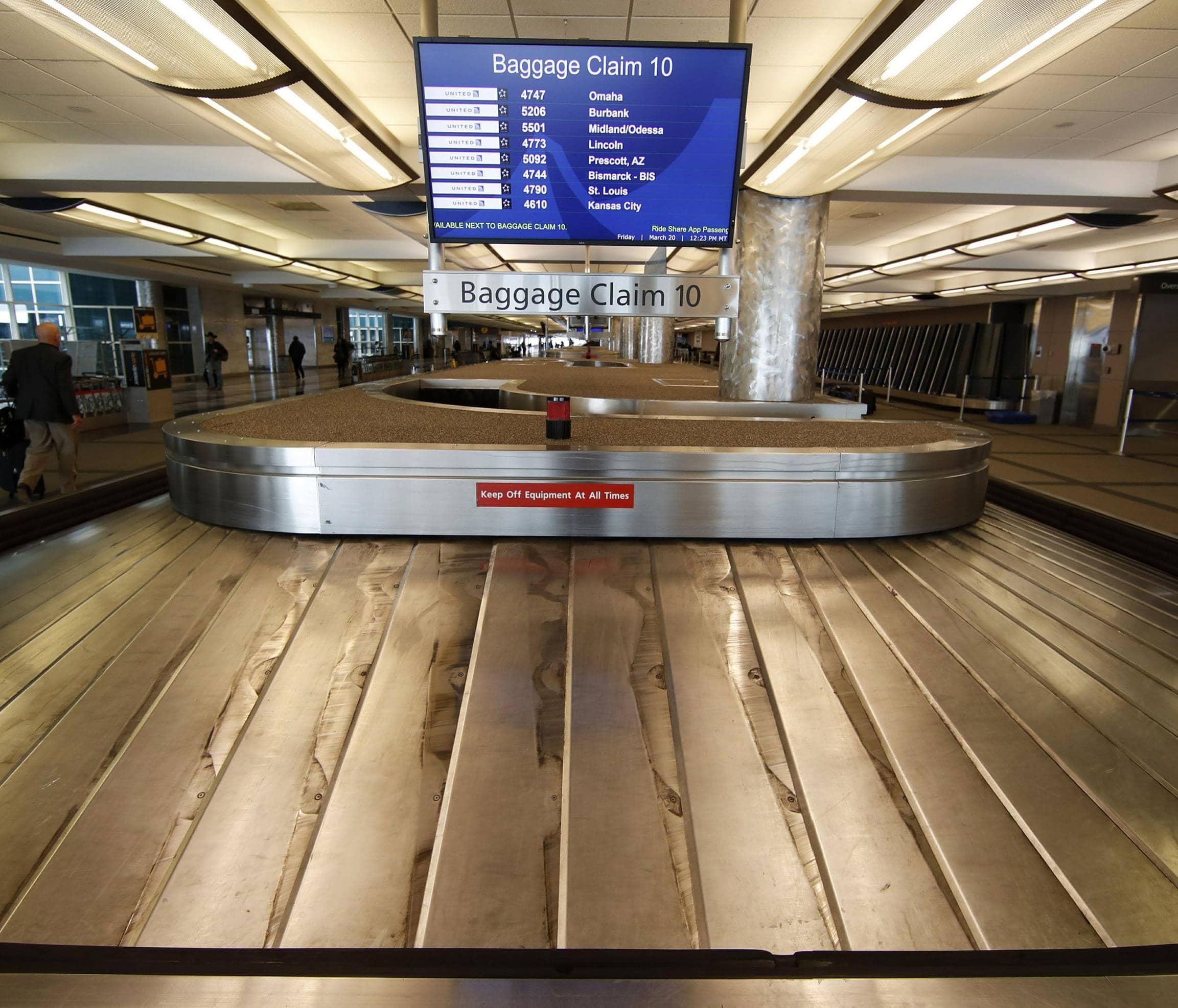 MANY AIRLINE FLIGHTS NEARLY EMPTY AS VIRUS UNDERCUTS TRAVEL