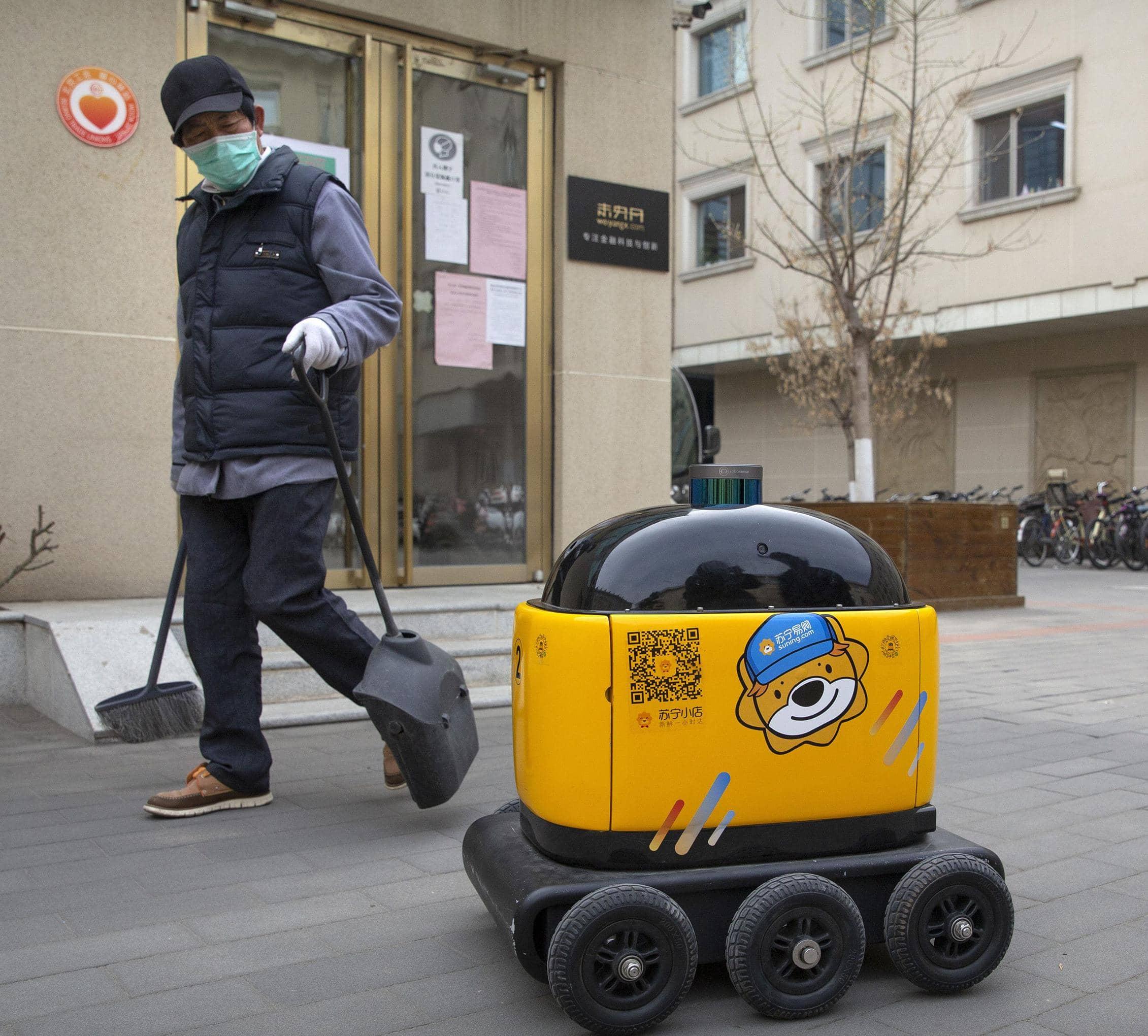 ROBOPONY: CHINESE ROBOT MAKER SEES DEMAND SURGE AMID VIRUS