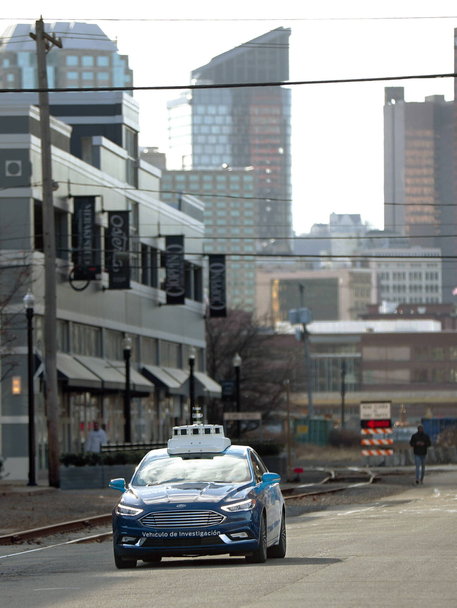 US AGENCY POSTS ONLINE MAP TO TRACK AUTONOMOUS VEHICLE TESTS