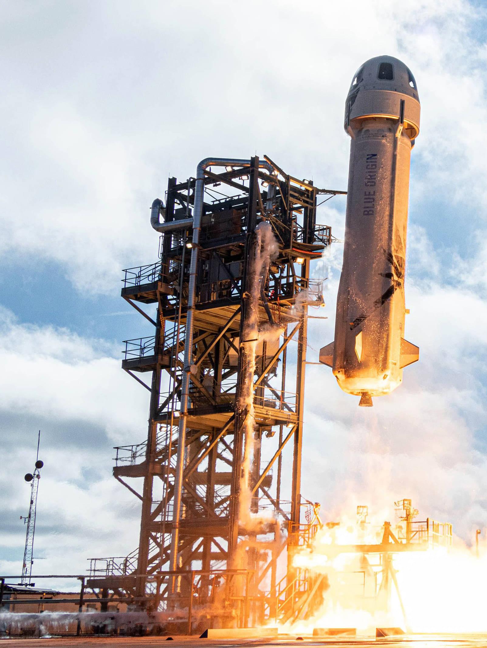 NASA MOON-LANDING TECH HITCHES RIDE TO SPACE ON BEZOS ROCKET
