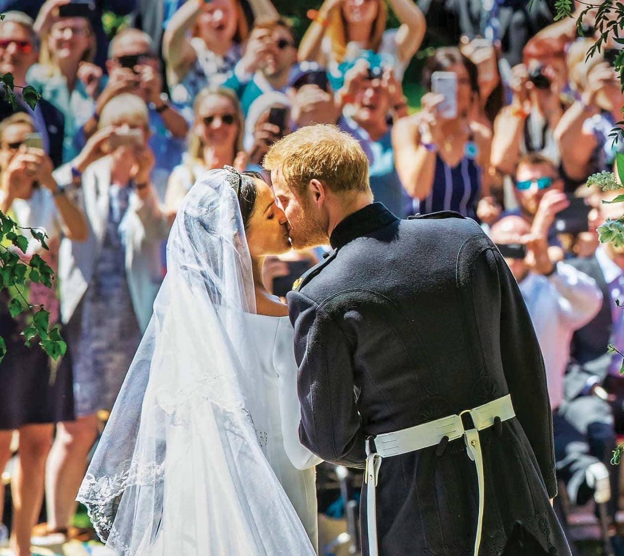Celebrating Their First Year As A Married Couple The Duke And Duchess Of Sussex Share Never-Before-Seen Photos Of Their Big Day