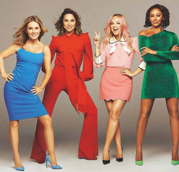 Telling Us What They Really, Really Want The Spice Girls On The Long Awaited Tour That Will Win Thousands Of New Fans