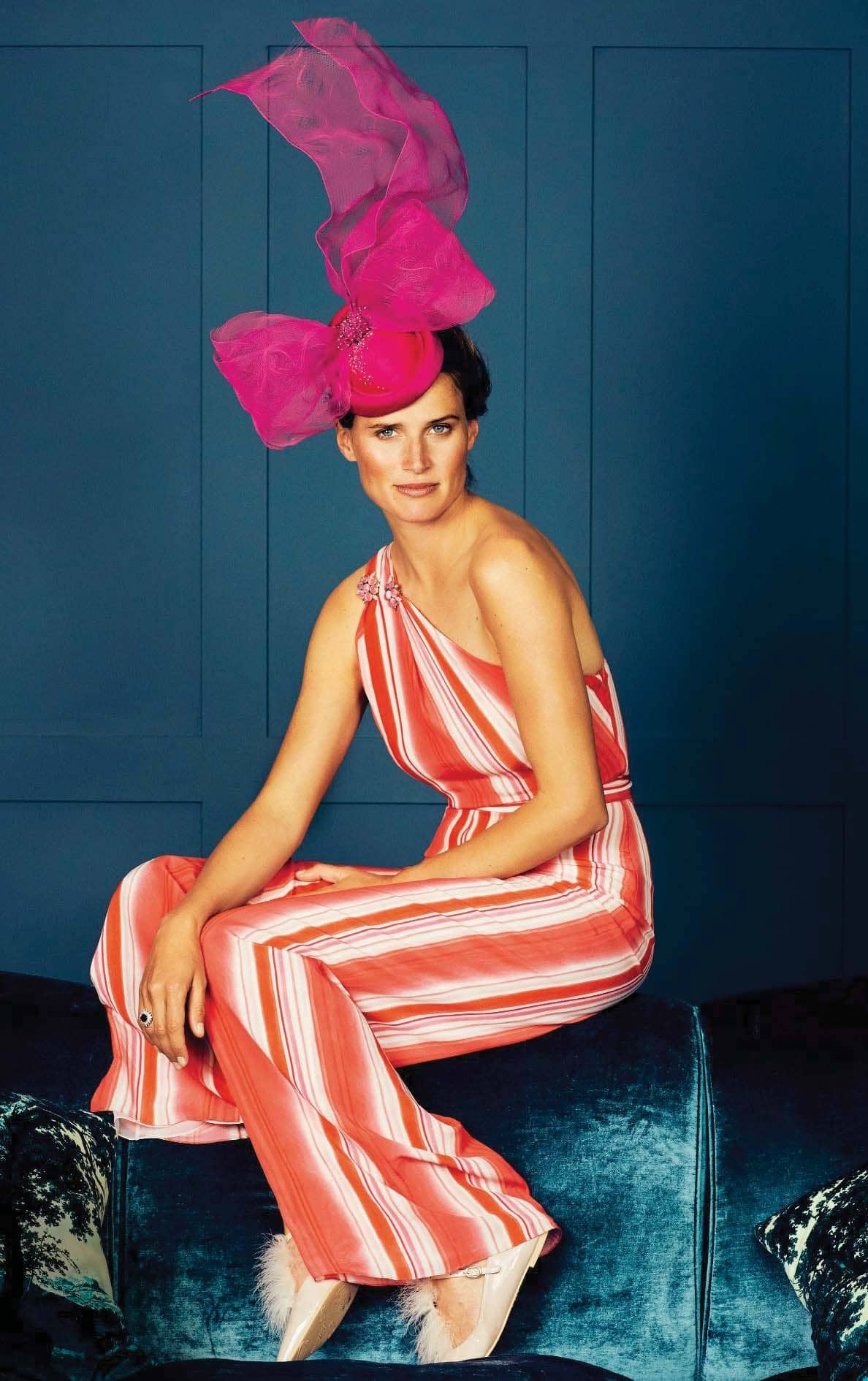 Thoroughbred Racing Presenter Francesca Cumani On Winning Form In The Ascot Style Stakes