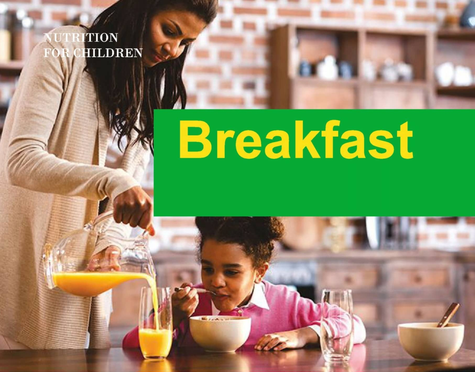 Breakfast- The Most Important Meal Of The Day For Children