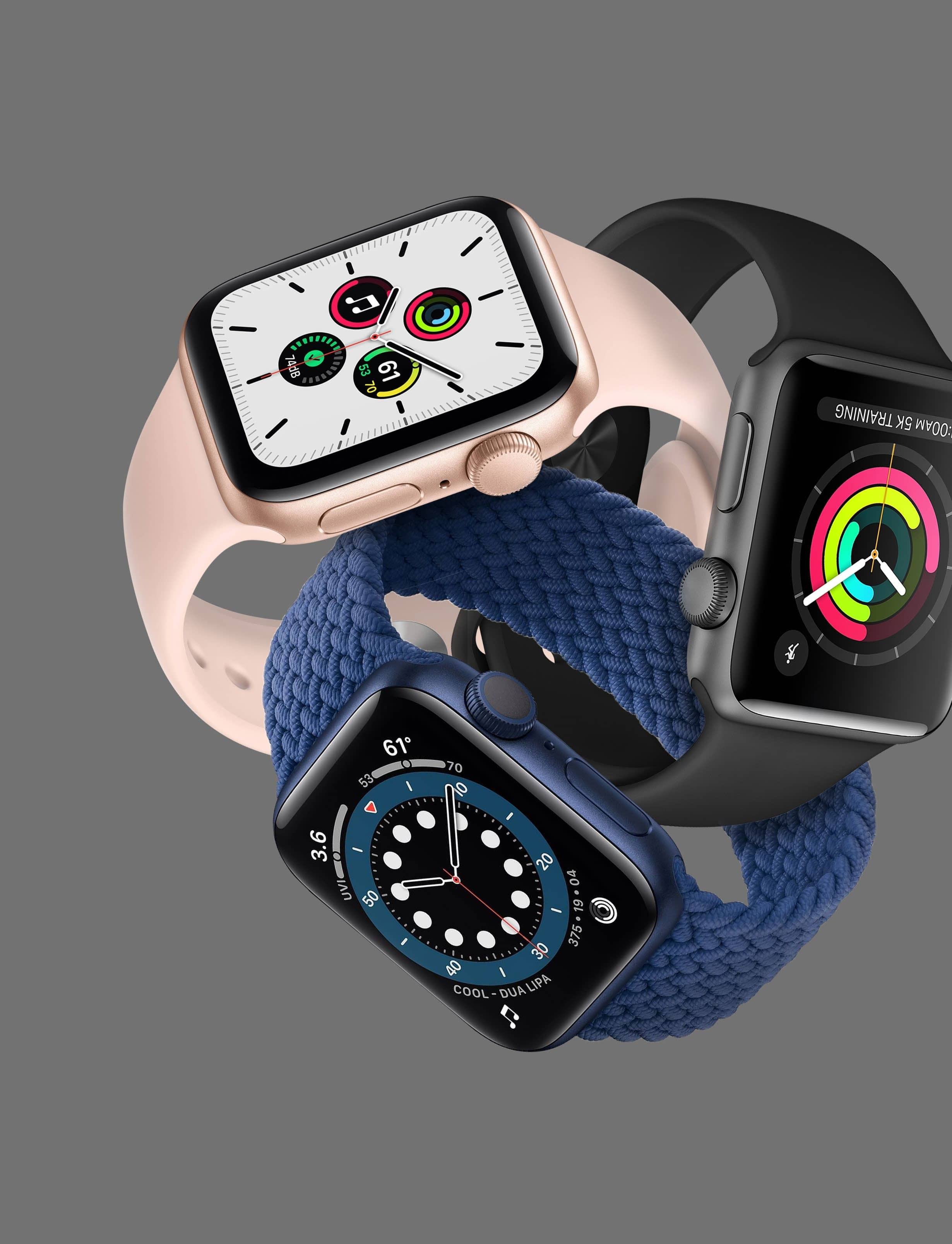 WHICH MODEL IS RIGHT FOR YOUR WRIST? APPLE WATCH SERIES 3 VS SE VS SERIES 6