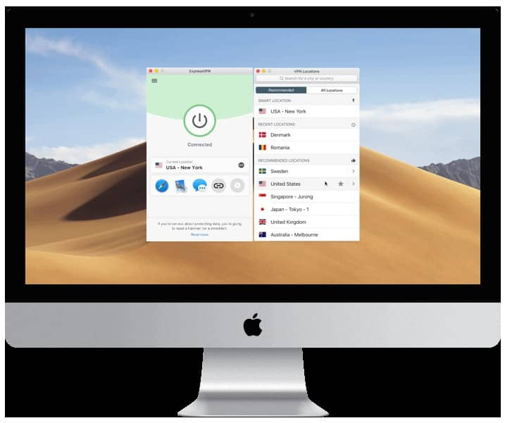 EXPRESSVPN: SPEEDY, RELIABLE SERVICE, BUT WHY THE EXOTIC LOCALE?