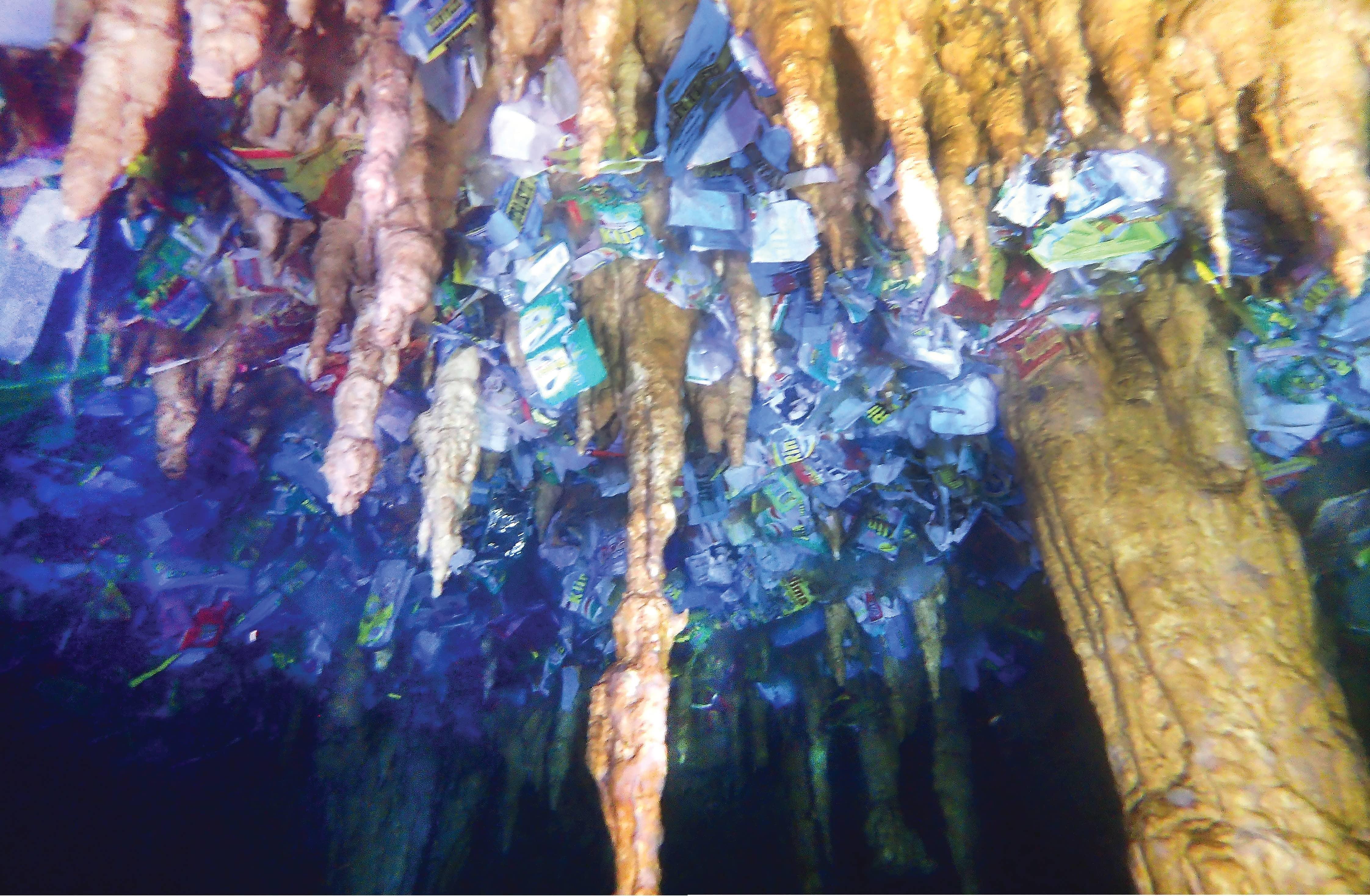 Caves: The Hidden Plastic Problem