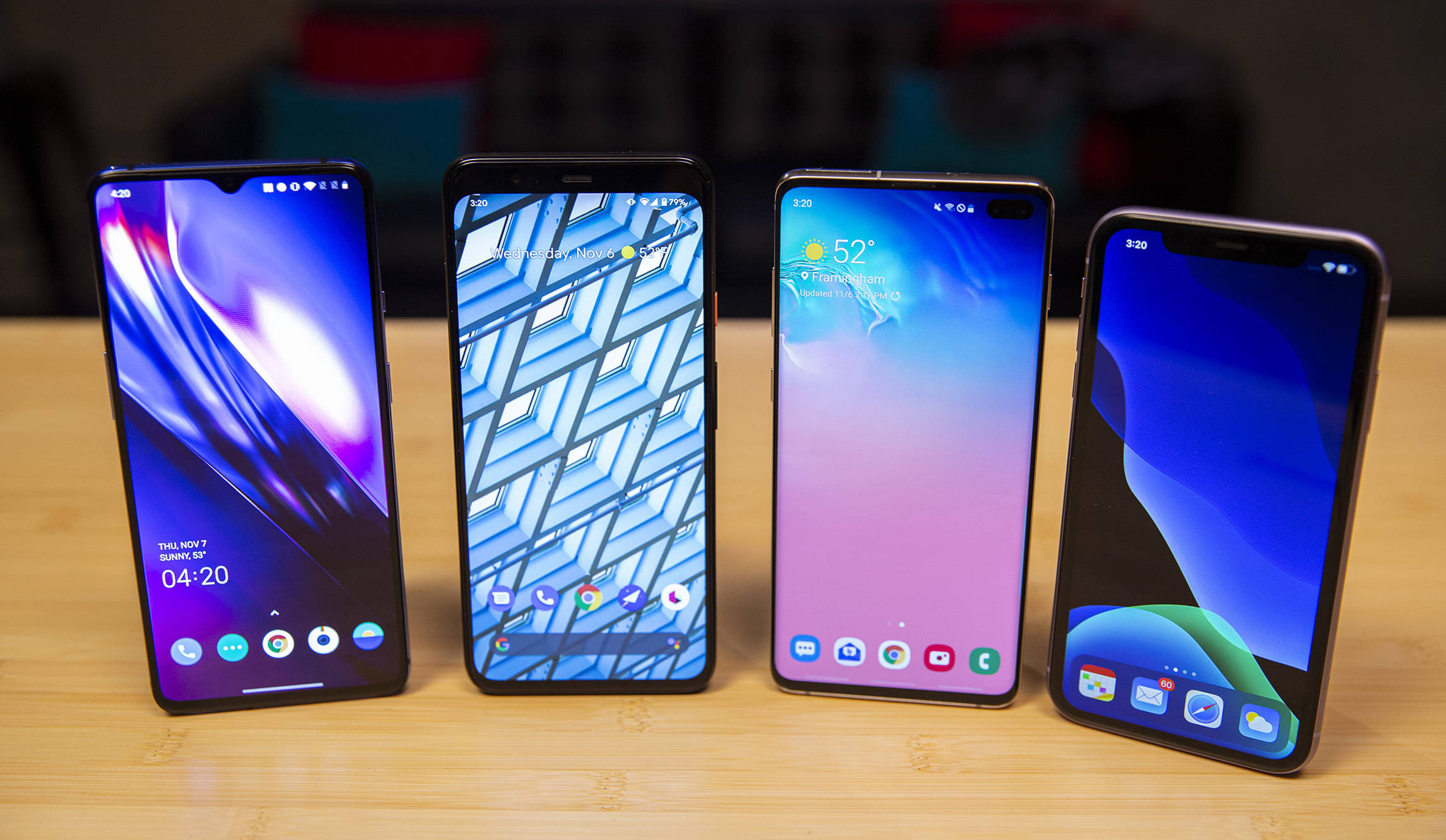 Iphone 11 Vs Android S Best An Underdog Does Just Enough To Take Down The Champ