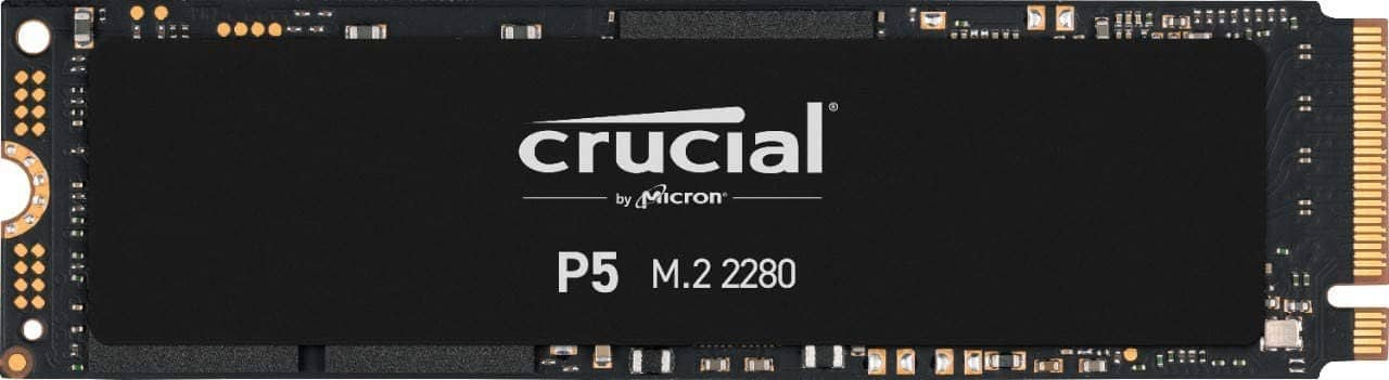 Crucial P5 SSD: Excellent bang for the buck