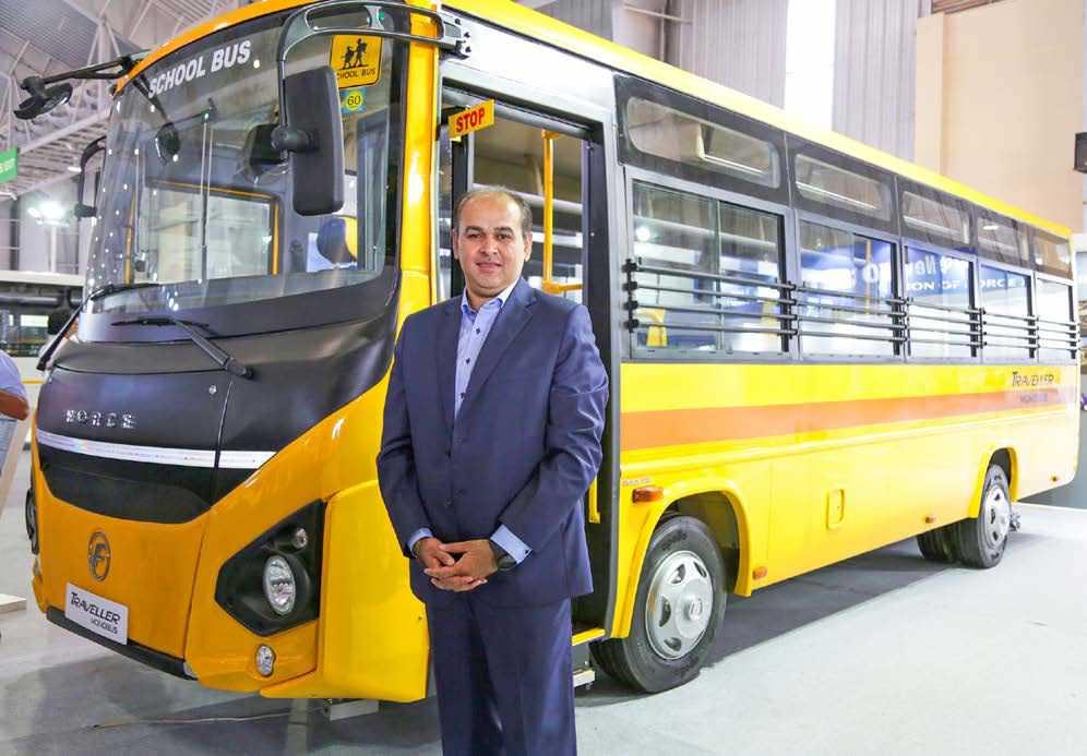 Force Motors' Traveller Monobus