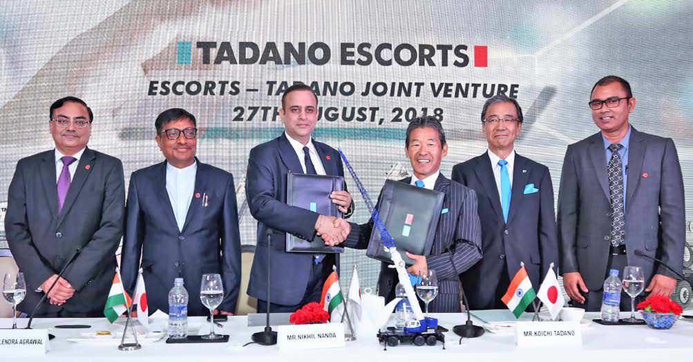 Tadano-Escorts Strategic Alliance For Higher Capacity Mobile Cranes