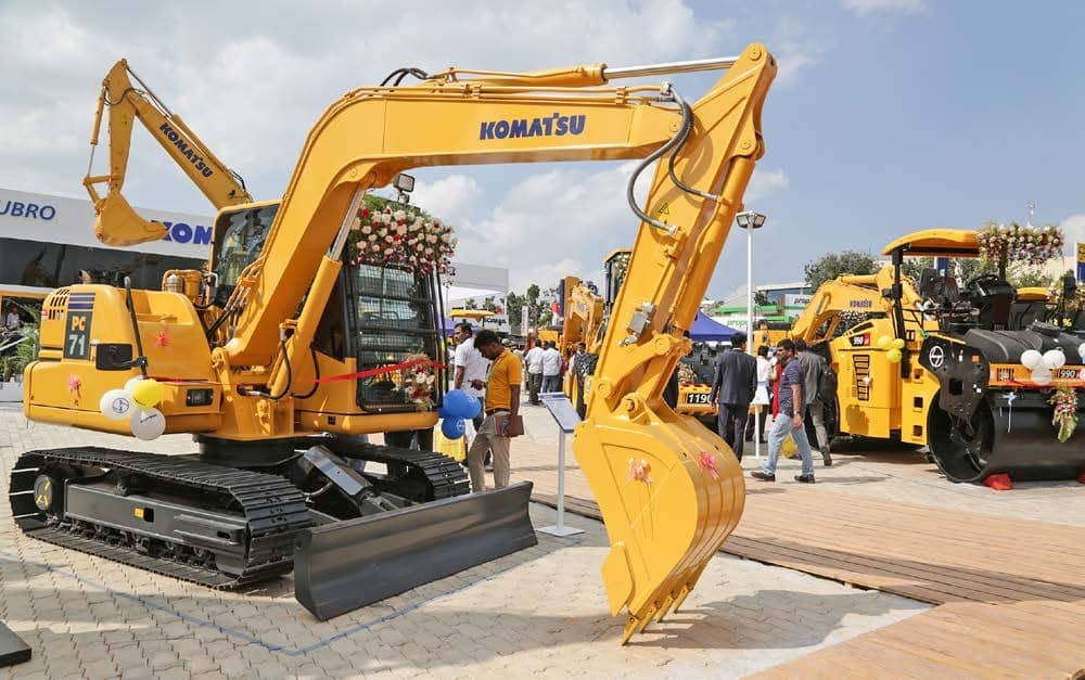 L&T and Komatsu India display technological strength