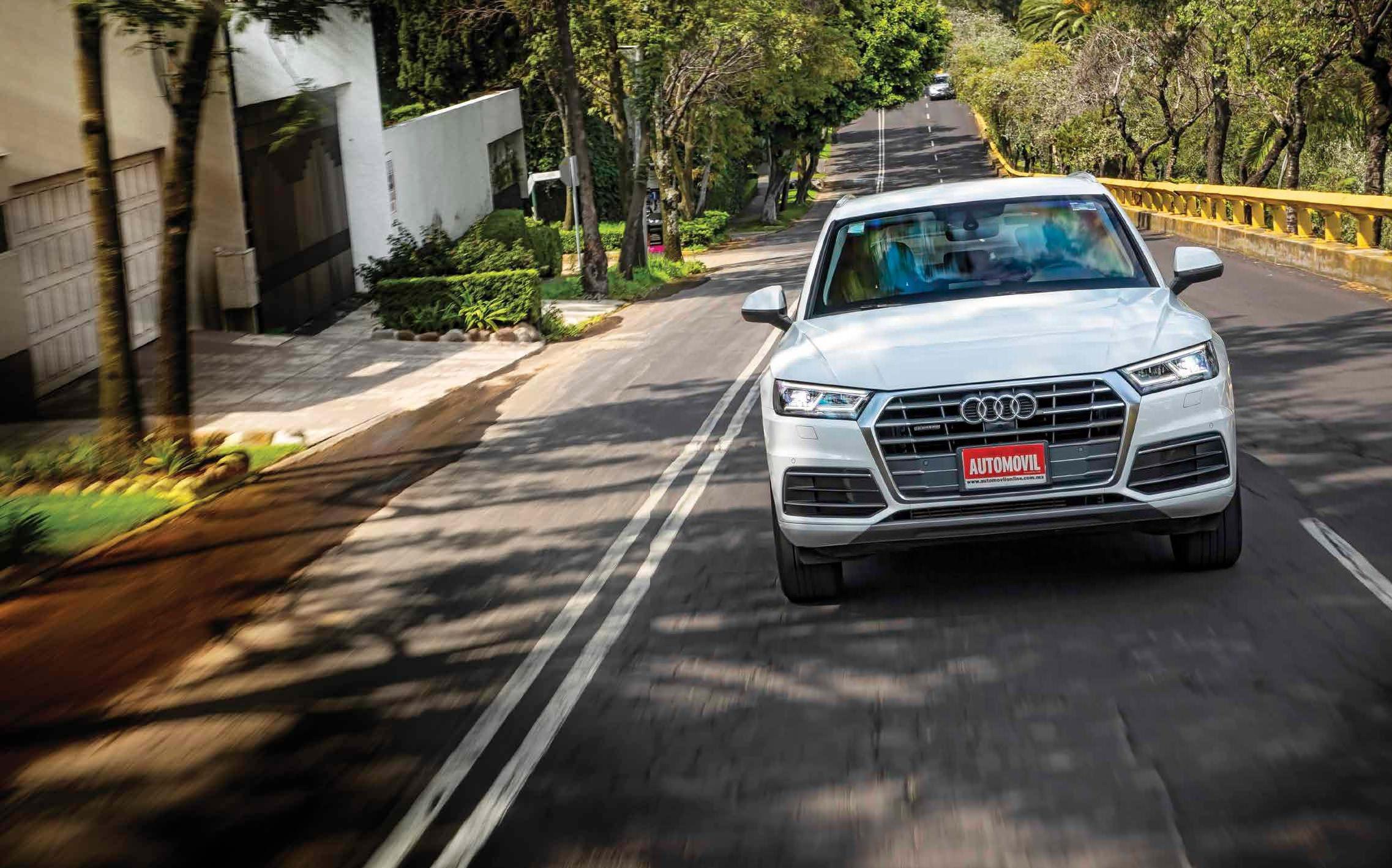 Audi Q5: Escudo Incluido