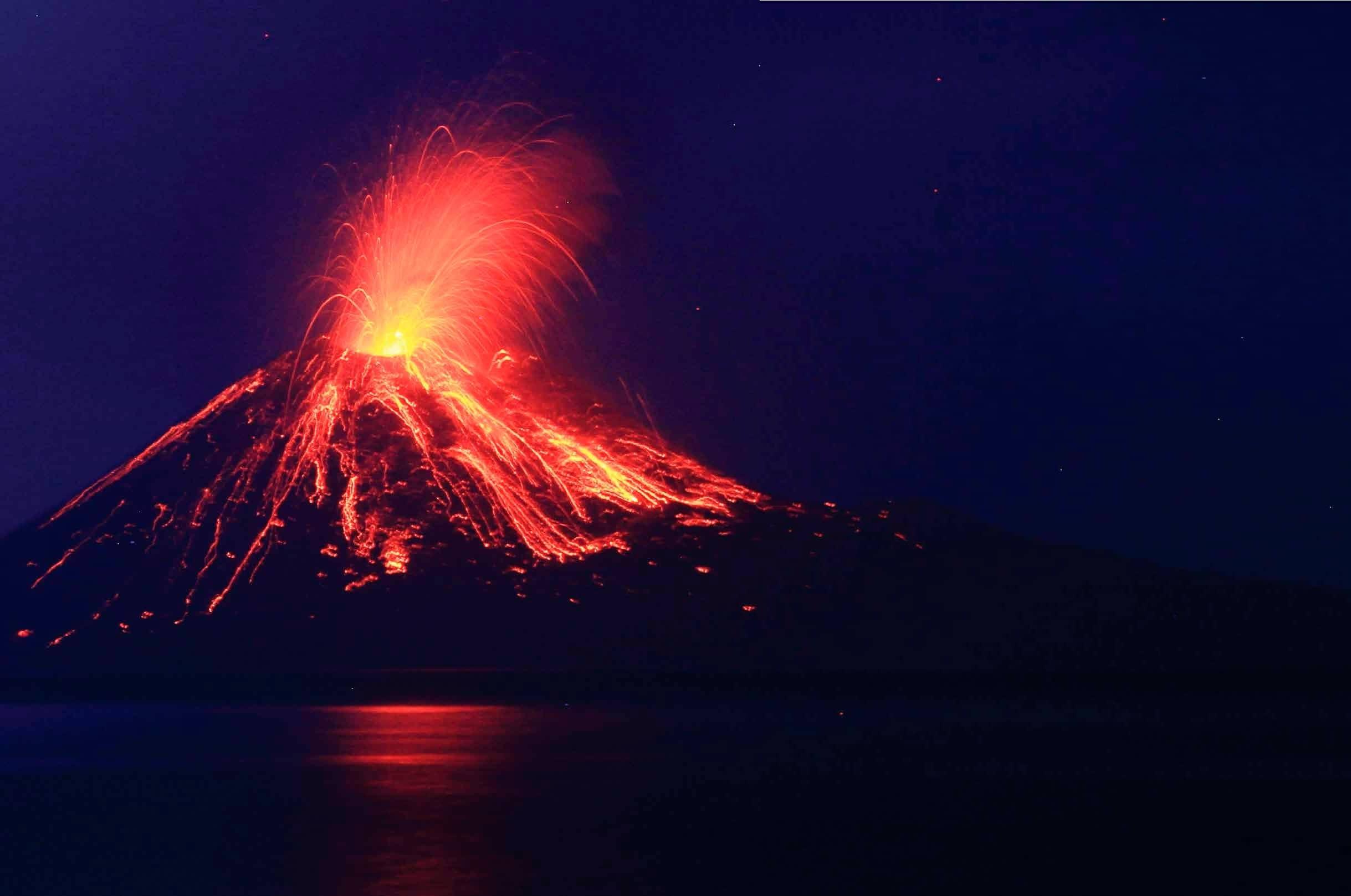 Furia de los volcanes