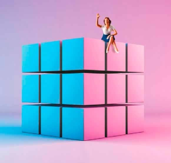 El juego de la vida es como el Rubik