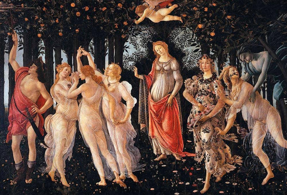 BOTTICELLI Y DURERO, EL HUMANISMO EN LA PINTURA El renacer de la cultura clásica
