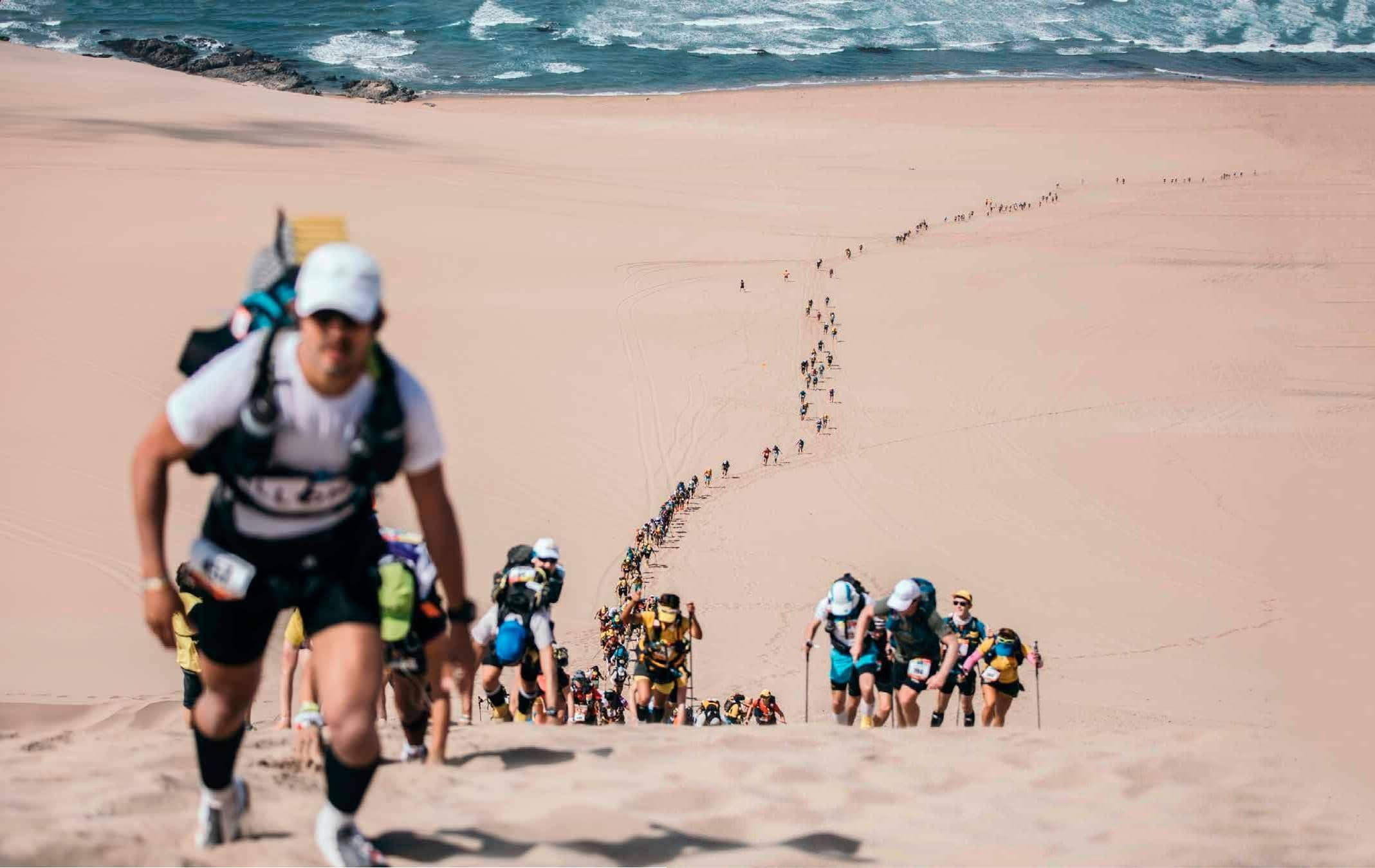 La carrera de las arenas