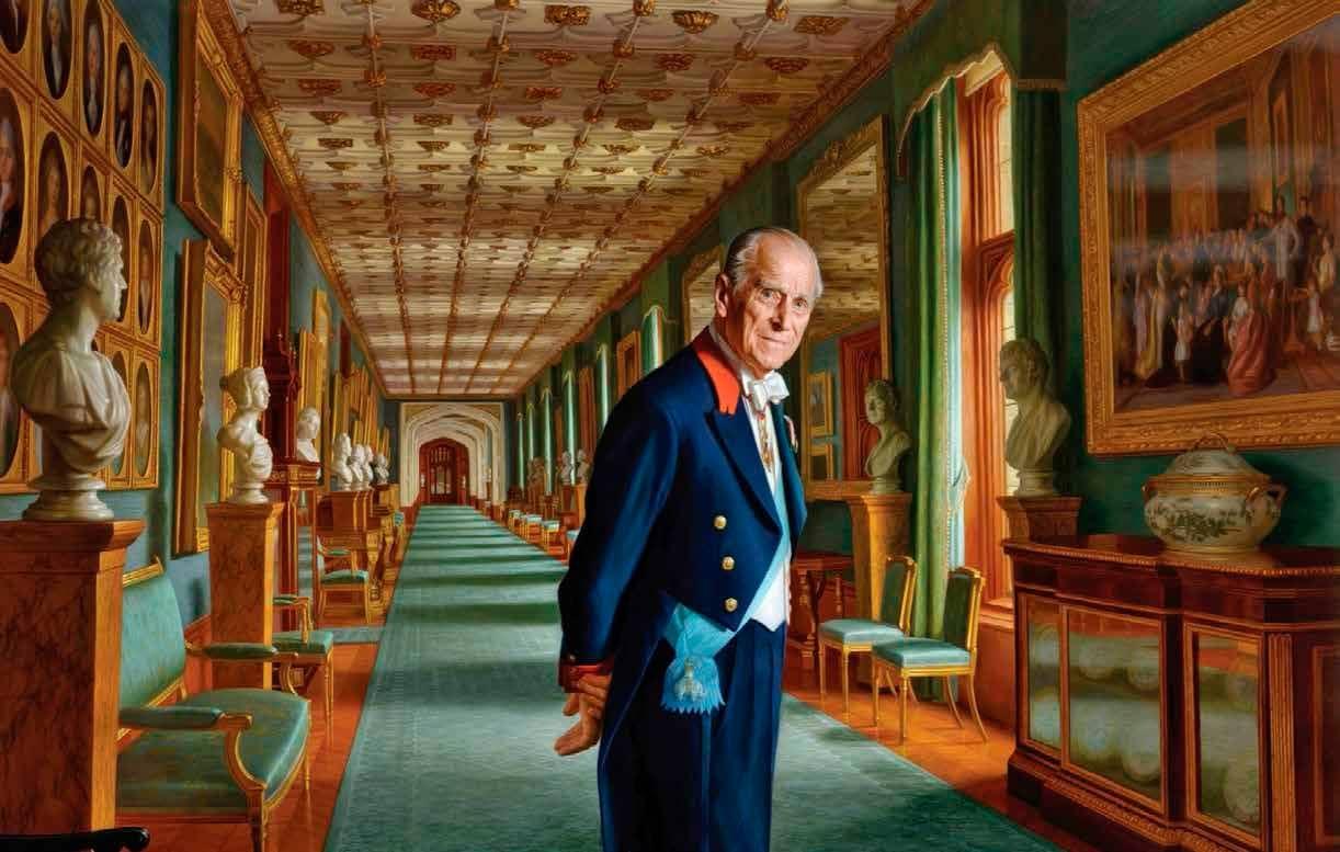 Felipe de Edimburgo Con la mirada en... ¿el futuro?