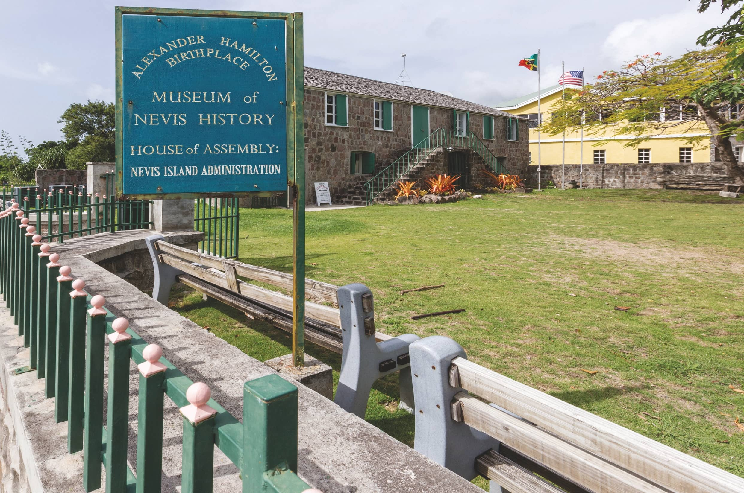 Nevis Island: Alexander Hamilton's Birthplace