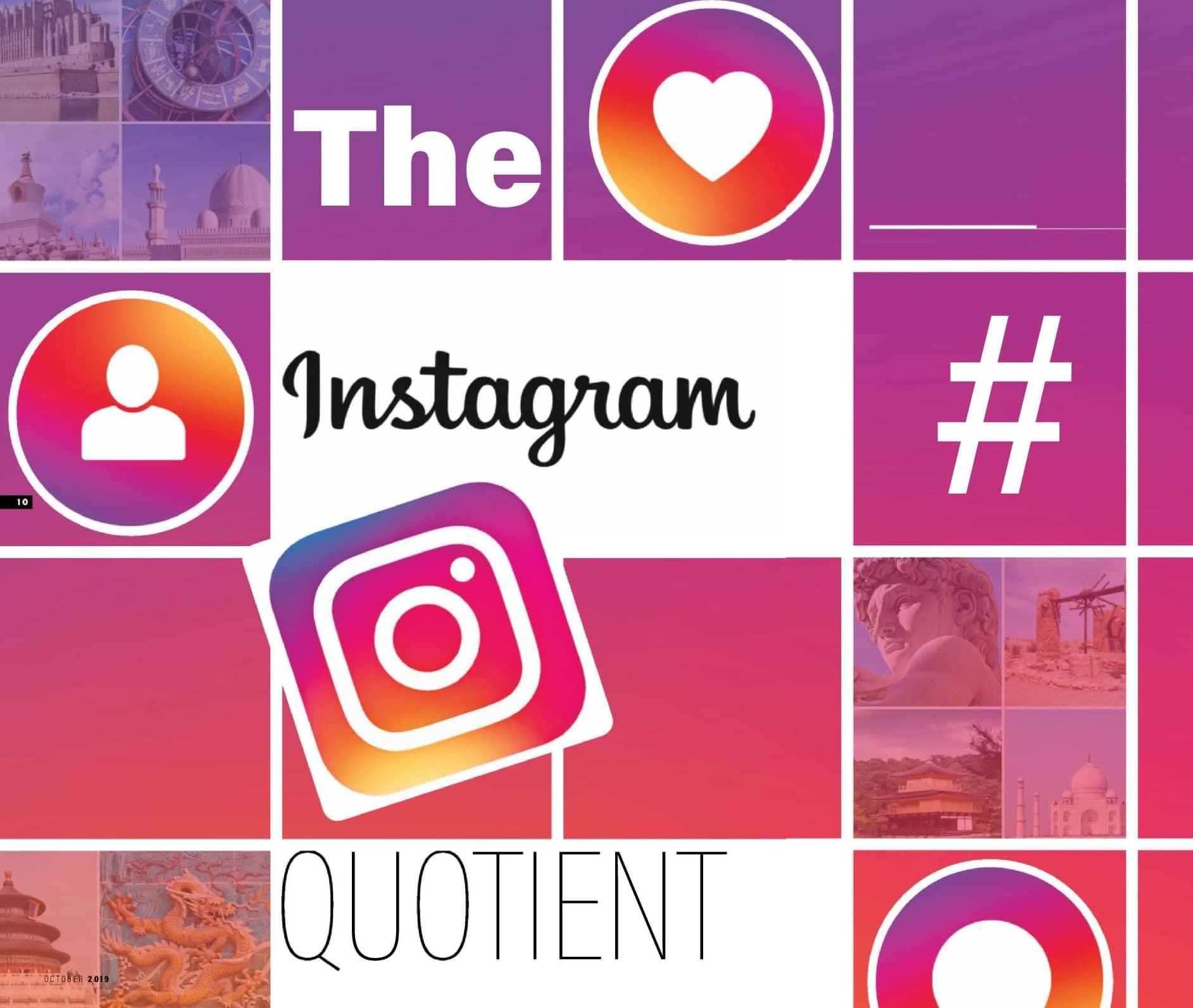 The Instagram Quotient