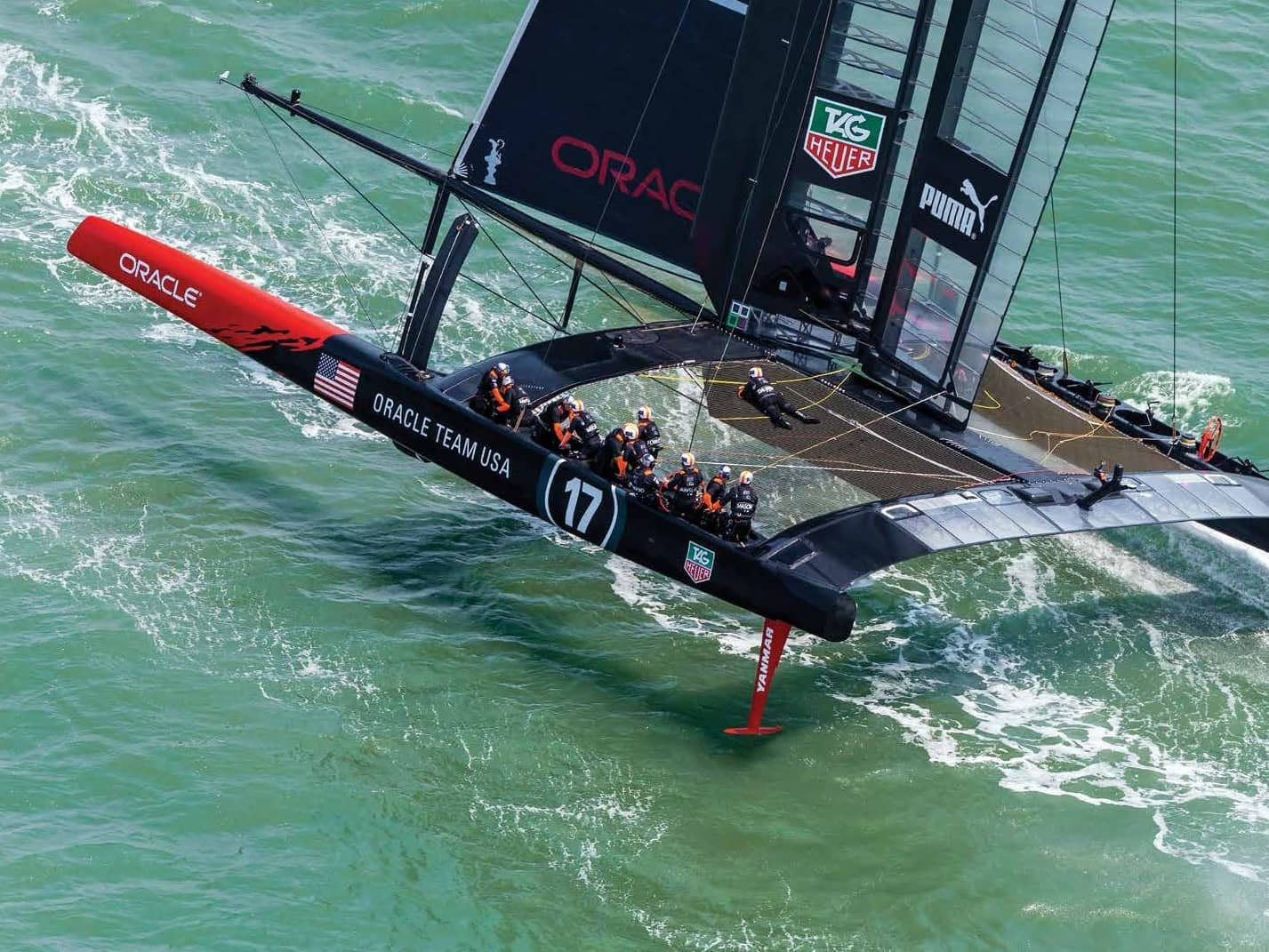 Speed And Innovation In The America's Cup