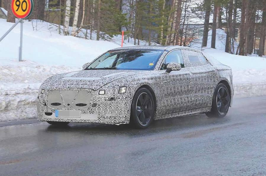 NEW ELECTRIC XJ UNDER TEST - 2020 DEBUT