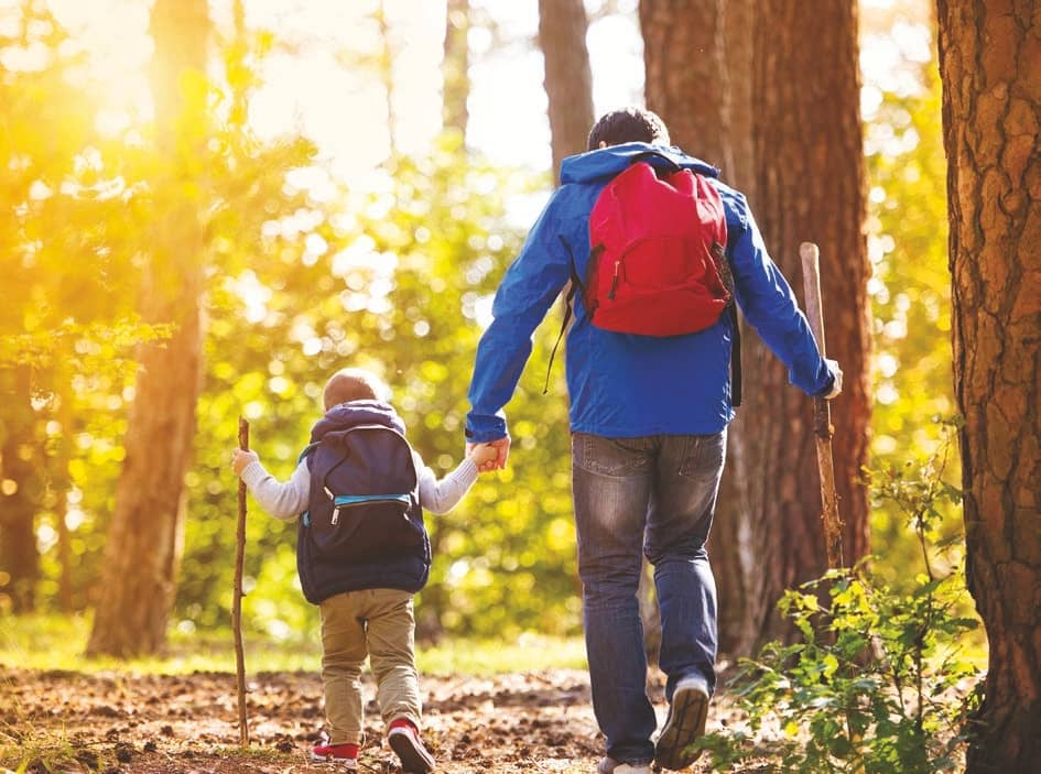 Hiking Benefits All Ages
