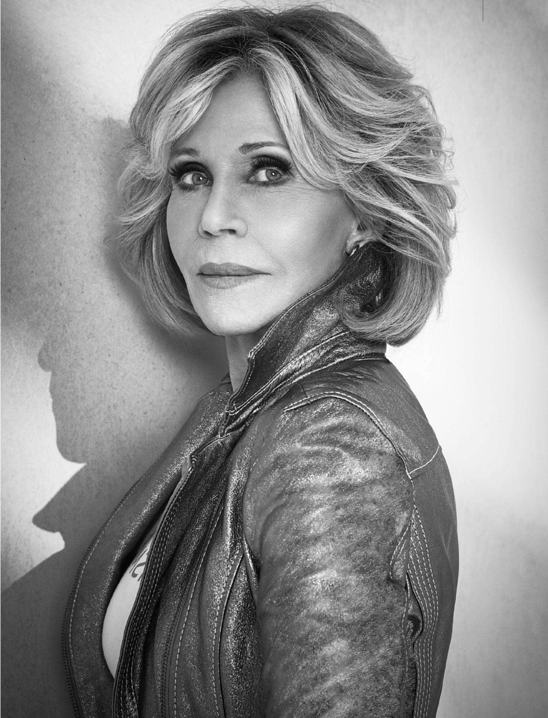 """Jane Fonda - """"I'm Still A Work In Progress"""""""