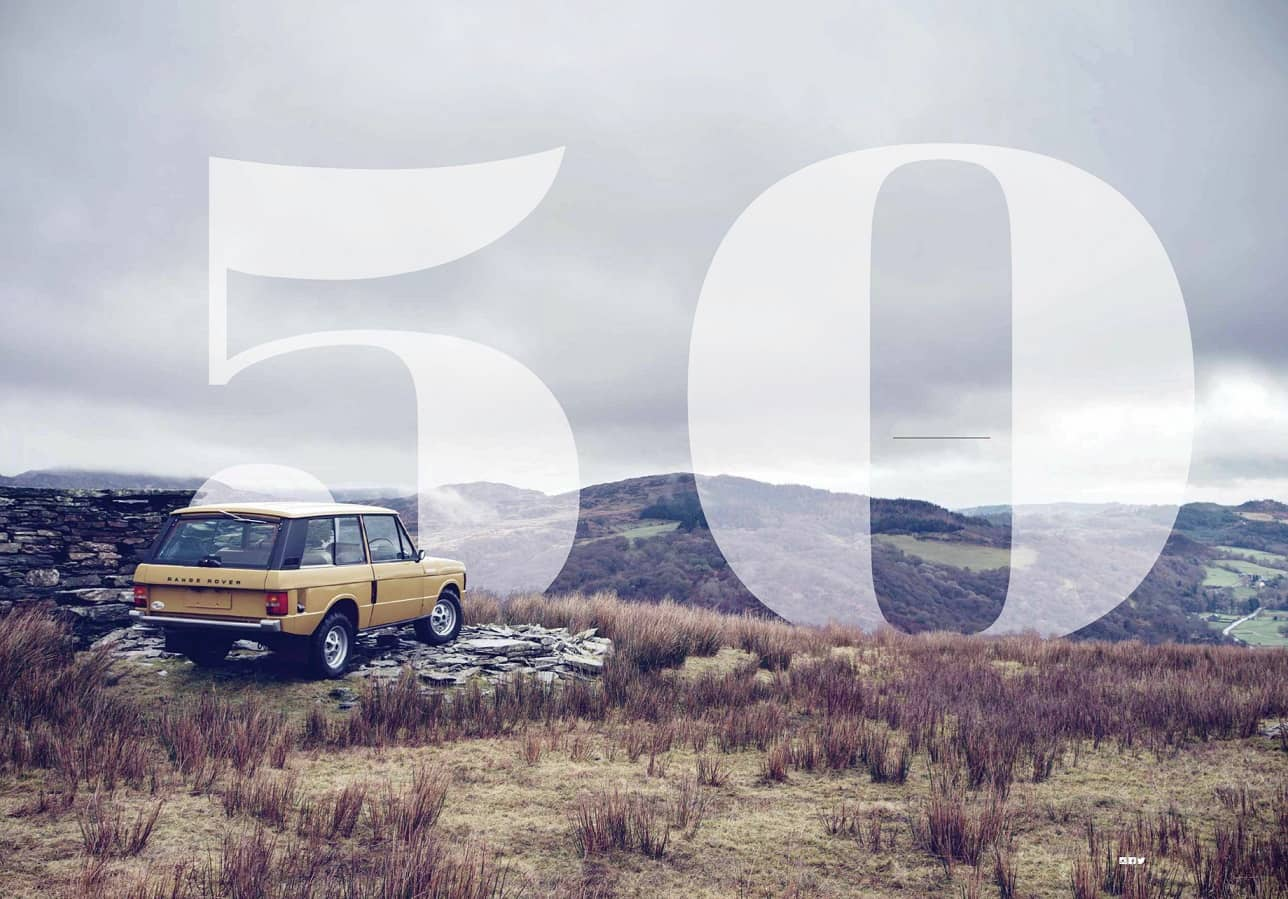 Range Rover at 50