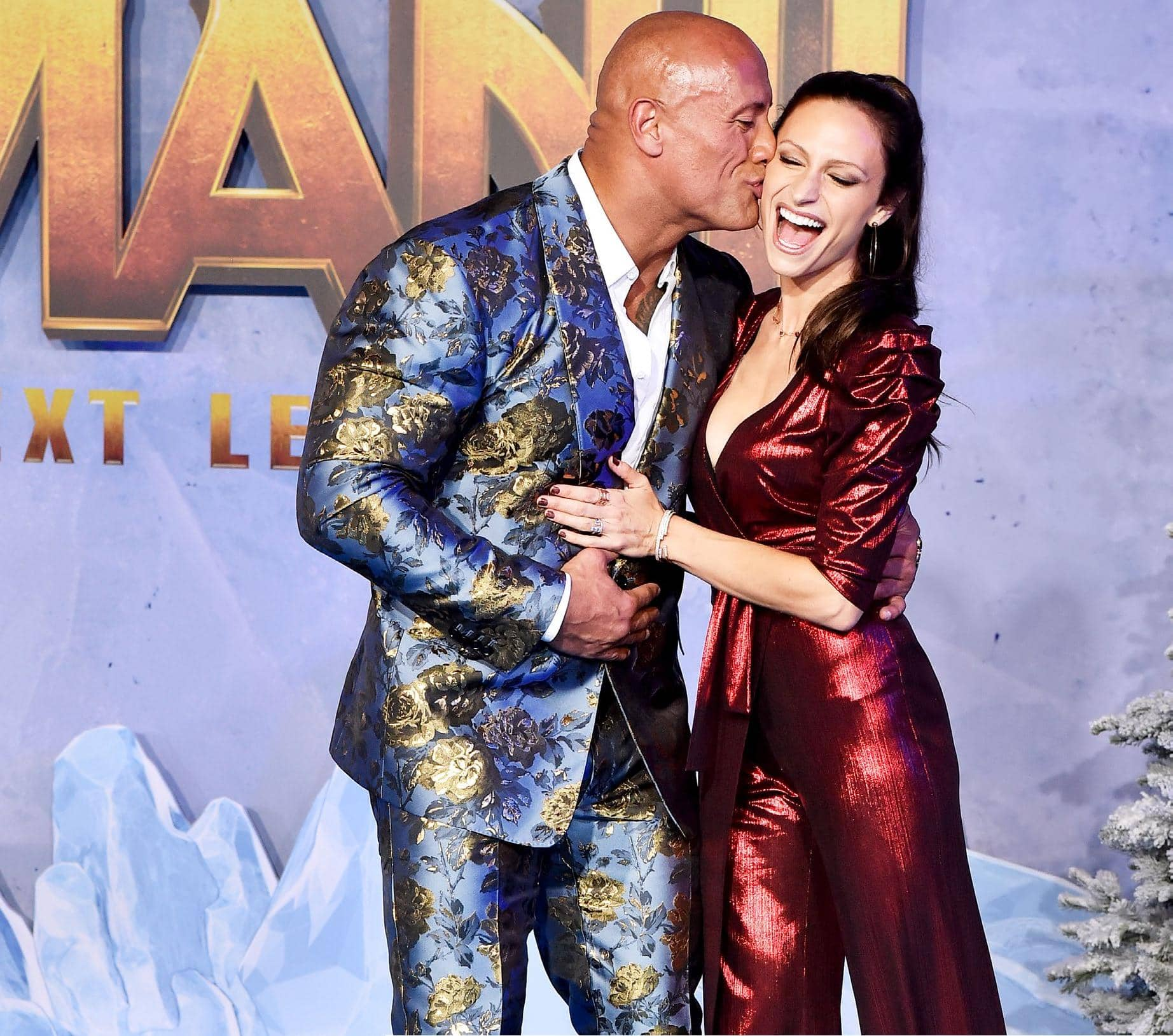 The Rock's Soft Side 'My Wife Saved Me!'
