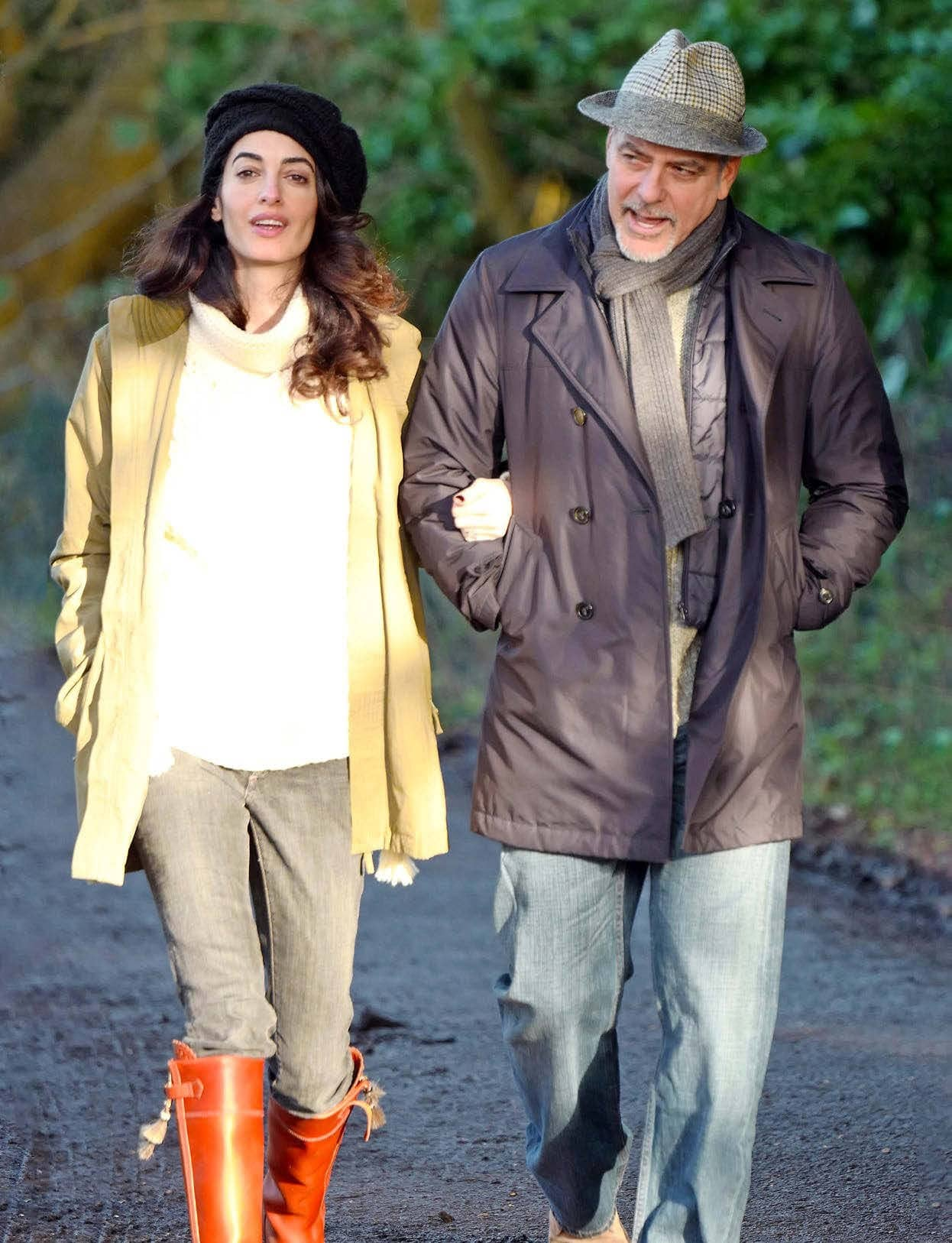 Amal & George 'We're Pregnant With Twins… Again!'