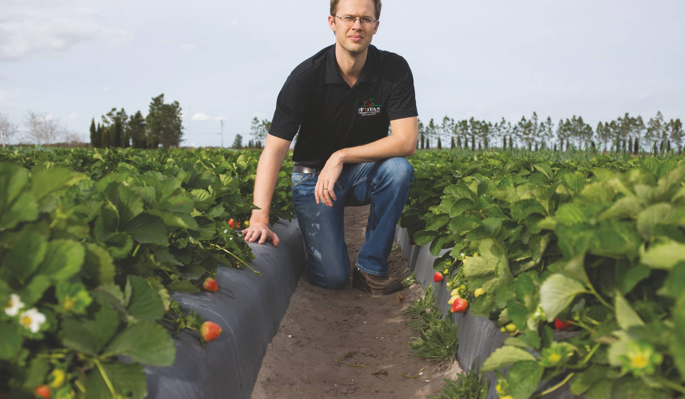 World Outreach Helps Strawberry Breeding Program