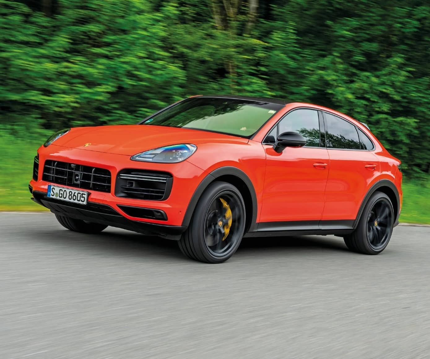 Porsche Cayenne Coupe - The Best-Looking Coupe-Fied SUV