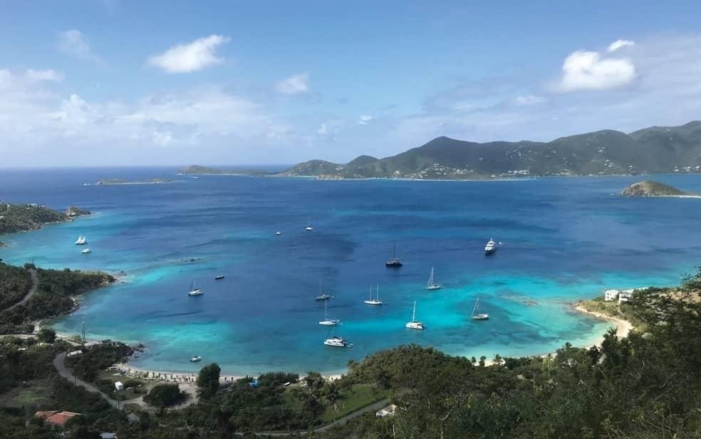 Stuck in the U.S. Virgin Islands