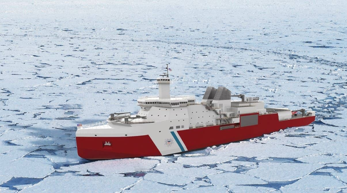 Icebreakers Cometh For US, Canada As Arctic Opens Wide