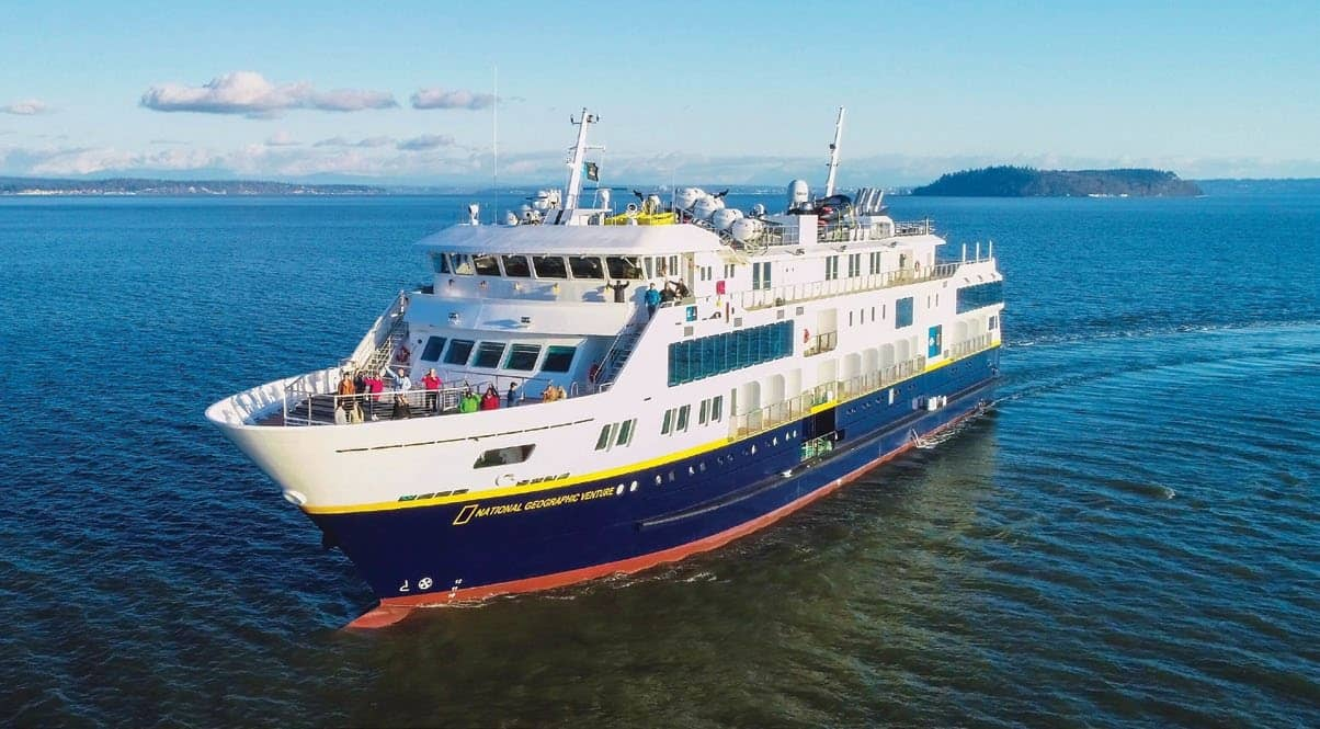 Lindblad Cruise Ship Designed To Get Guests Close To Nature