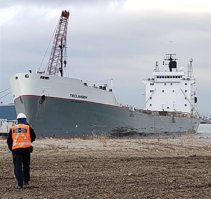 Engine Room Fire Disables Canadian Bulk Carrier Near Detroit