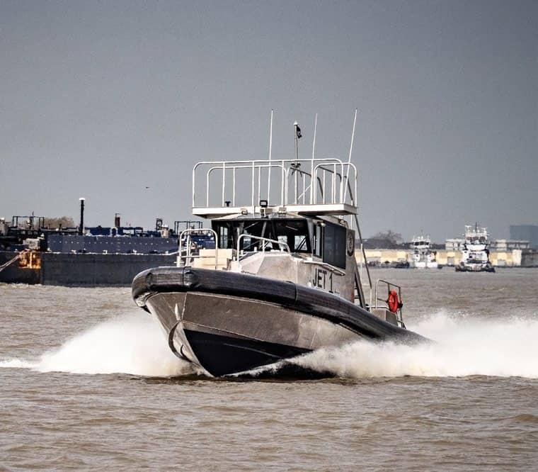 New Metal Shark duo speeds Lower Miss. pilot transfers